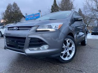 Used 2013 Ford Escape 4WD 4dr Titanium *NAVI*BACKUP*PANOROOF for sale in Brampton, ON