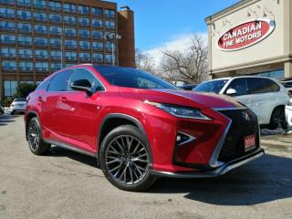 Used 2016 Lexus RX 350 F SPORTS 3 | PANO | NAVI | CAM | HUD | 4 NEW SNOW TIRES* | for sale in Scarborough, ON