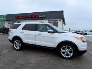 Used 2013 Ford Explorer Limited 4WD for sale in Milton, ON