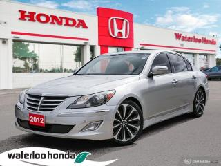 Used 2012 Hyundai Genesis Sedan R-Spec for sale in Waterloo, ON