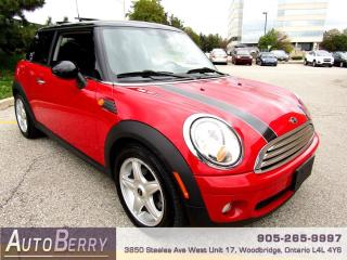 Used 2009 MINI Cooper Hardtop - 6 Speed One owner! for sale in Woodbridge, ON