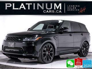 Used 2020 Land Rover Range Rover Sport HST MHEV, HYBRID, NAV, DRIVER PKG, HEATED/VENTED for sale in Toronto, ON