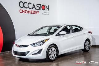 Used 2015 Hyundai Elantra GL+GR /ELECT+BLUETOOTH+SIEGE/CHAUFF for sale in Laval, QC