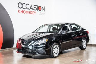 Used 2017 Nissan Sentra 1.8S+CAMERA DE RECUL+BLUETHOOTH+SIEGES CHAUFFANTS for sale in Laval, QC