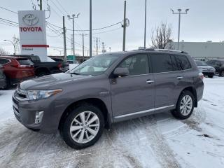 Used 2013 Toyota Highlander HYBRID 4WD 4dr Limited for sale in St-Hubert, QC