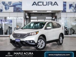 Used 2012 Honda CR-V EX-L AWD (A5) for sale in Maple, ON