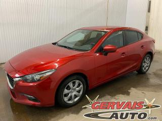 Used 2017 Mazda MAZDA3 GX A/C Caméra GPS Bluetooth for sale in Trois-Rivières, QC