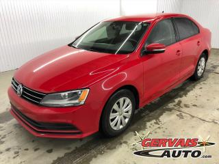 Used 2015 Volkswagen Jetta TRENDLINE+ BLUETOOTH CAMÉRA SIÈGES CHAUFFANTS for sale in Trois-Rivières, QC