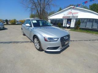 Used 2014 Audi A4 2.0T quattro Komfort for sale in Barrie, ON