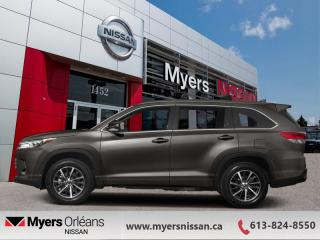 Used 2017 Toyota Highlander XLE  - Navigation -  Sunroof - $254 B/W for sale in Orleans, ON