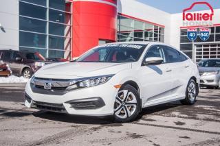 Used 2016 Honda Civic GARANTIE LALLIER 10ANS/200,000 KILOMETRES INCLUSE* PLUS DE 75 CIVIC USAGEES PRETES POUR LIVRAISON RAPIDE for sale in Terrebonne, QC