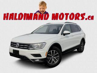 Used 2018 Volkswagen Tiguan COMFORTLINE 4Motion for sale in Cayuga, ON