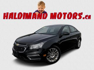 Used 2015 Chevrolet Cruze for sale in Cayuga, ON