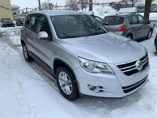 Used 2010 Volkswagen Tiguan 4 portes Trendline 4Motion, boîte automa for sale in Pointe-Aux-Trembles, QC