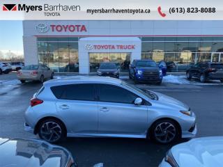 Used 2017 Toyota Corolla iM CVT  - Heated Seats -  Bluetooth - $108 B/W for sale in Ottawa, ON