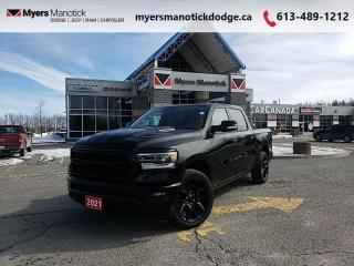 New 2021 RAM 1500 Sport  -  Android Auto -  Apple CarPlay - $401 B/W for sale in Ottawa, ON