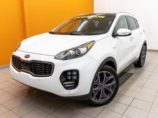 Used 2017 Kia Sportage SX TURBO AWD CUIR ALERTES NAVIGATION *TOIT PANO* for sale in Mirabel, QC