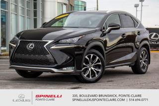Used 2016 Lexus NX 200t **F-SPORT SERIES 1 AWD** *CUIR ROUGE*BANCS CHAUFFANTS*TOIT*CAMERA DE RECUL*VOLANT CHAUFFANTS*HAYON AUTOMATIQUE* for sale in Montréal, QC