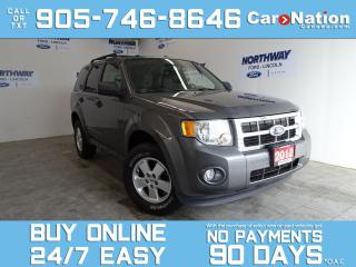 Used 2012 Ford Escape XLT | LEATHER | SUNROOF | 5 SPEED M/T | ONLY 79 KM for sale in Brantford, ON