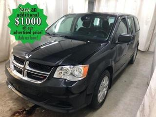 Used 2019 Dodge Grand Caravan CVP* Back UP CAMERA/LOW KILOMETRES for sale in Winnipeg, MB
