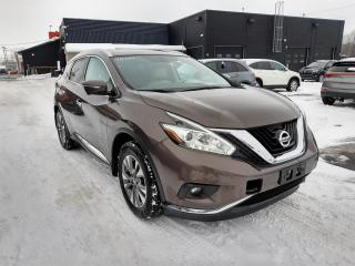 Used 2015 Nissan Murano SL AWD CUIR TOIT PANO MAGS GPS for sale in Île-Perrot, QC