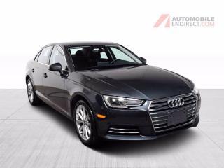Used 2017 Audi A4 PROGRESSIV QUATTRO CUIR TOIT GPS for sale in Île-Perrot, QC