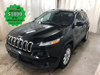Used 2017 Jeep Cherokee North* Keyless Entry/Heated seats/REMOTE STARTER for sale in Winnipeg, MB