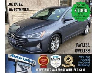 Used 2020 Hyundai Elantra Preferred w-Sun & Safety Package* AppleCarplay for sale in Winnipeg, MB