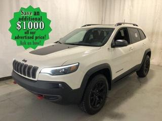 Used 2019 Jeep Cherokee Trailhawk Elite* 4x4/Heated Seats/LOW KILOMETRES for sale in Winnipeg, MB