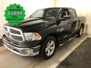 Used 2019 RAM 1500 Classic SLT* 4x4/Crew/Hitch Receiver/LOW KILOMETRES for sale in Winnipeg, MB