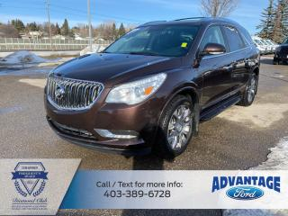 Used 2016 Buick Enclave Premium ONE PREVIOUS OWNER for sale in Calgary, AB