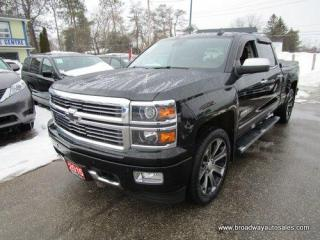 Used 2015 Chevrolet Silverado 1500 LIKE NEW HIGH-COUNTRY MODEL 5 PASSENGER 6.2L - V8.. 4X4.. CREW-CAB.. SHORTY.. NAVIGATION.. LEATHER.. HEATED/AC SEATS.. POWER PEDALS & MIRRORS.. for sale in Bradford, ON