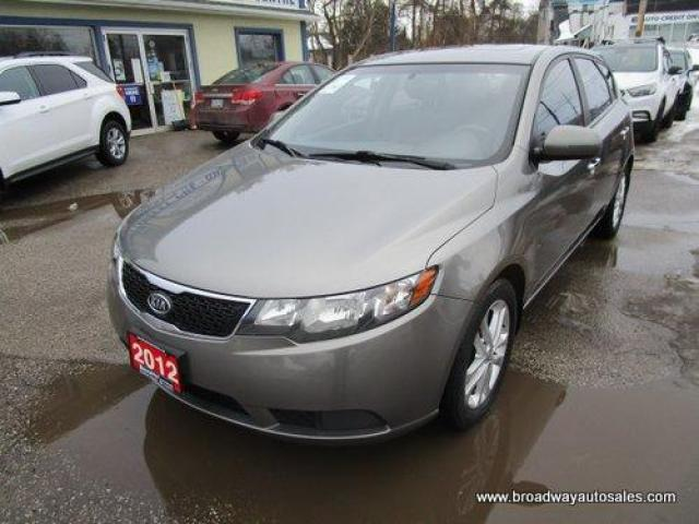 2012 Kia Forte5 LOADED EX EDITION 5 PASSENGER 2.0L - DOHC.. LEATHER.. HEATED SEATS.. POWER SUNROOF.. BLUETOOTH SYSTEM.. CD/AUX/USB INPUT.. KEYLESS ENTRY..