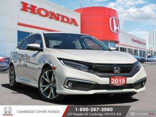 Used 2019 Honda Civic Touring GPS NAVIGATION | REMOTE STARTER | APPLE CARPLAY™ & ANDROID AUTO™ for sale in Cambridge, ON