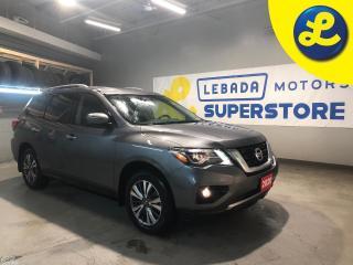 Used 2020 Nissan Pathfinder SV Tech 4WD * Navigation * 7 Passenger * Blind Spot Warning (BSW) * Intelligent Emergency Braking (IEB) and Rear Cross Traffic Alert (RCTA) * Back Up for sale in Cambridge, ON