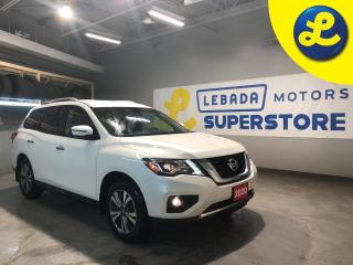 Used 2020 Nissan Pathfinder SV Tech 4WD * Navigation * 7 Passenger * Blind Spot Warning (BSW) * Intelligent Emergency Braking (IEB) and Rear Cross Traffic Alert (RCTA) * Back Up for sale in Cambridge, ON