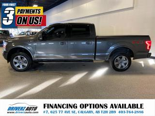 Used 2018 Ford F-150 Lariat 502A SPORT FX4 for sale in Calgary, AB