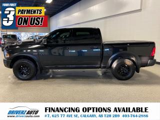 Used 2017 RAM 1500 Rebel RAMBOX, BLACK APPEARANCE PKGE, REMOTE START, AND MORE!! for sale in Calgary, AB