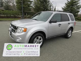 Used 2010 Ford Escape XLTLEATHER SUNROOF FWD INSPECTED WARRANTY FINANCING  BCAA MEMBERSHIP, for sale in Surrey, BC