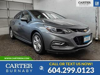 Used 2018 Chevrolet Cruze LT AUTO for sale in Burnaby, BC