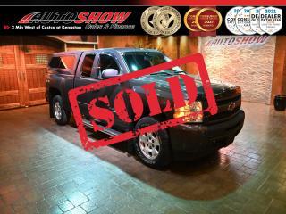 Used 2011 Chevrolet Silverado 1500 LT 5.3L V8 4x4 w/ Matching Cap ! for sale in Winnipeg, MB