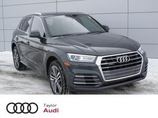 Used 2018 Audi Q5 2.0T Progressiv ONE OWNER, S LINE SPORT PACKAGE, AUDI CONNECT for sale in Regina, SK