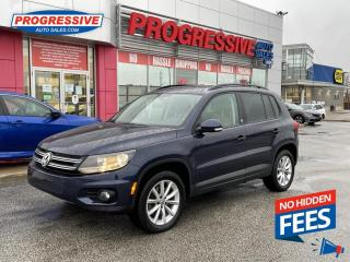 Used 2017 Volkswagen Tiguan Wolfsburg Edition AWD / BACKUP CAMERA / HEATED SEATS for sale in Sarnia, ON