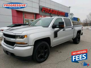 Used 2018 Chevrolet Silverado 1500 Silverado Custom BACK UP CAMERA / FULL CAB for sale in Sarnia, ON