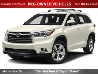 Used 2015 Toyota Highlander LIMITED  for sale in Moose Jaw, SK