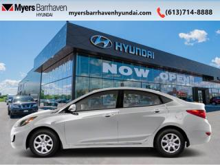 Used 2012 Hyundai Accent GL  - Cruise Control for sale in Nepean, ON