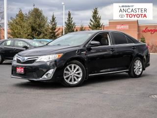 Used 2012 Toyota Camry HYBRID XLE for sale in Ancaster, ON