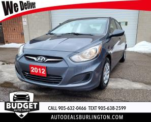 Used 2012 Hyundai Accent GL for sale in Burlington, ON