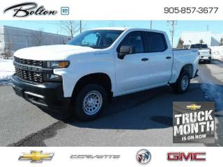 New 2021 Chevrolet Silverado 1500 Work Truck for sale in Bolton, ON