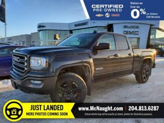Used 2016 GMC Sierra 1500 Elevation 4x4 Double Cab | Level Kit | Duratracs for sale in Winnipeg, MB